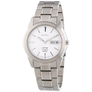 Seiko Men's SGG727 'Sapphire' Titanium Watch