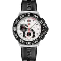 Tag Heuer Men's  'Formula 1' Chronograph Black Rubber Watch