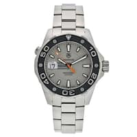 Tag Heuer Men's WAJ1111.BA0870 'Aquaracer' Automatic Stainless Steel Watch
