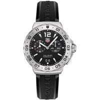 Tag Heuer Men's WAU111A.FT6024 'Formula 1' Chronograph Black Stainless Steel Watch