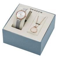 Skagen Women's  'Anita' Crystal Stainless Steel Watch
