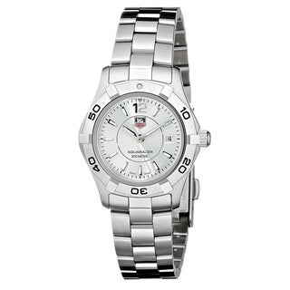 Link to Tag Heuer Women's  'Aquaracer' Stainless Steel Watch Similar Items in Women's Watches