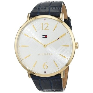 Tommy Hilfiger Women's 'Classic' Blue Leather Watch