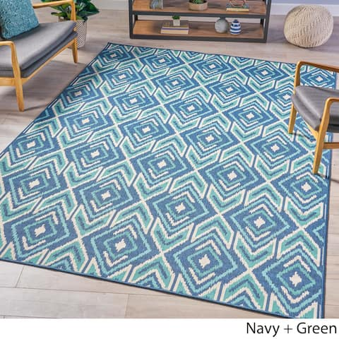 Merise Indoor Geometric Area Rug by Christopher Knight Home - 7'10 x 10'10