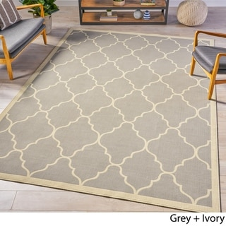Estha Indoor Geometric Area Rug by Christopher Knight Home - 7'10 x 10'10