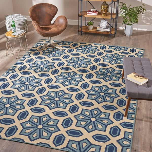Elvina Indoor Geometric 8 X 11 Area Rug By Christopher Knight Home 7 X27