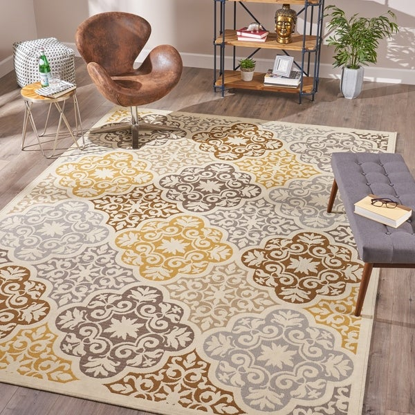 Arte Indoor Floral 8 X 11 Area Rug By Christopher Knight Home 710