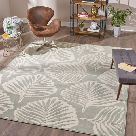 Tinuviel Indoor Floral Area Rug by Christopher Knight Home - 7'10 x 10'10
