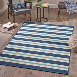 Tuvia  Indoor Geometric Area Rug by Christopher Knight Home - 5'3 X 7'6