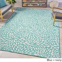 Claus Indoor Floral Area Rug by Christopher Knight Home - 7'10 x 10'10