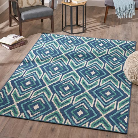 Merise Indoor Geometric Area Rug by Christopher Knight Home - 5'3 X 7'6
