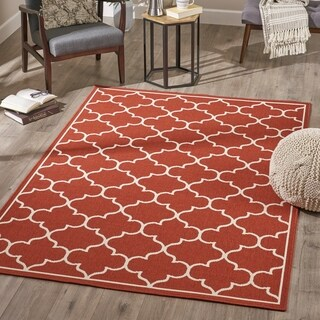Makena Indoor Geometric Area Rug by Christopher Knight Home - 5'3 X 7'6