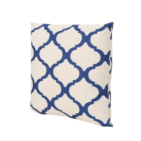 """Fira Water Resistant 18"""" Square Pillow by Christopher Knight Home"""