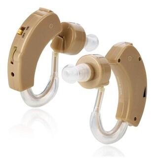 MEDca BTE Behind the Ear Sound Amplifier Mini Size Sound Enhancer