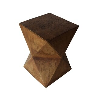 Waylon Outdoor Light-Weight Concrete Side Table by Christopher Knight Home