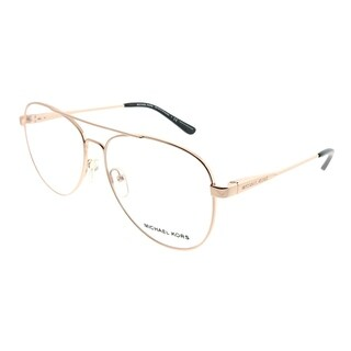 Michael Kors Aviator MK 3019 Procida 1116 Woman Rose Gold Frame Eyeglasses