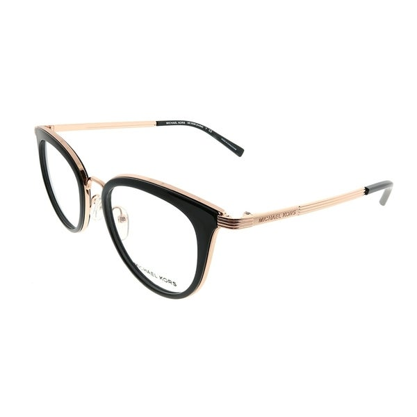 Michael Kors Round MK 3026 Aruba 3332 Woman Rose Gold Frame ...