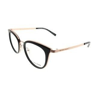Michael Kors Round MK 3026 Aruba 3332 Woman Rose Gold Frame Eyeglasses