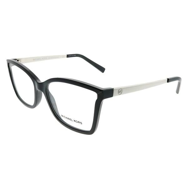 028993df049 Michael Kors Rectangle MK 4058 Caracas 3332 Woman Black Frame Eyeglasses