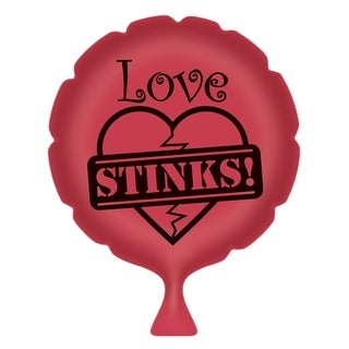 "Beistle Love Stinks Whoopee Cushion 8"" - 6 Pack (1/Pkg)"