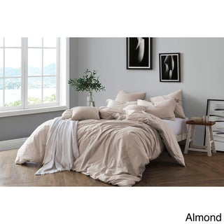 Link to All Natural Prewashed Yarn Dye 100% Cotton Premium Wrinkled Look Chambray Full/Queen Duvet Cover Set - Ash Grey (As Is Item) Similar Items in As Is