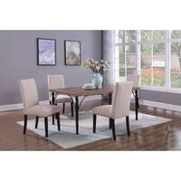 Best Master Furniture 5 Pieces Manhattan Dining Set