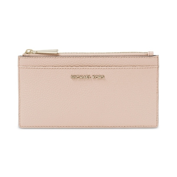 efcbdd8a5d0f Shop MICHAEL Michael Kors Large Slim Card Case - L - On Sale - Free ...