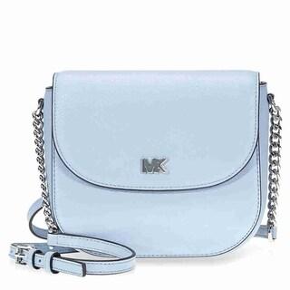 Michael Kors Mott Pale Blue Crossbody Bag