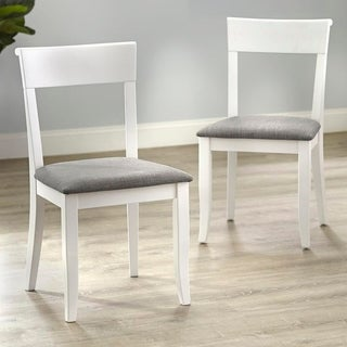 Simple Living Bistrol Dining Chairs (Set of 2) (White)