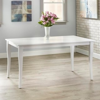 Simple Living Bistrol Dining Table (White)