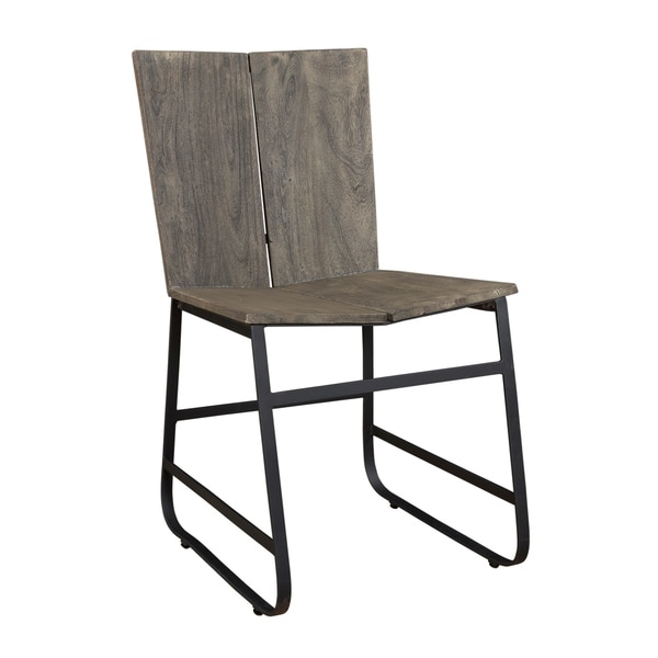 Superbe Treasure Trove Tundra Smokey Grey Dining Chairs (Set Of 2)