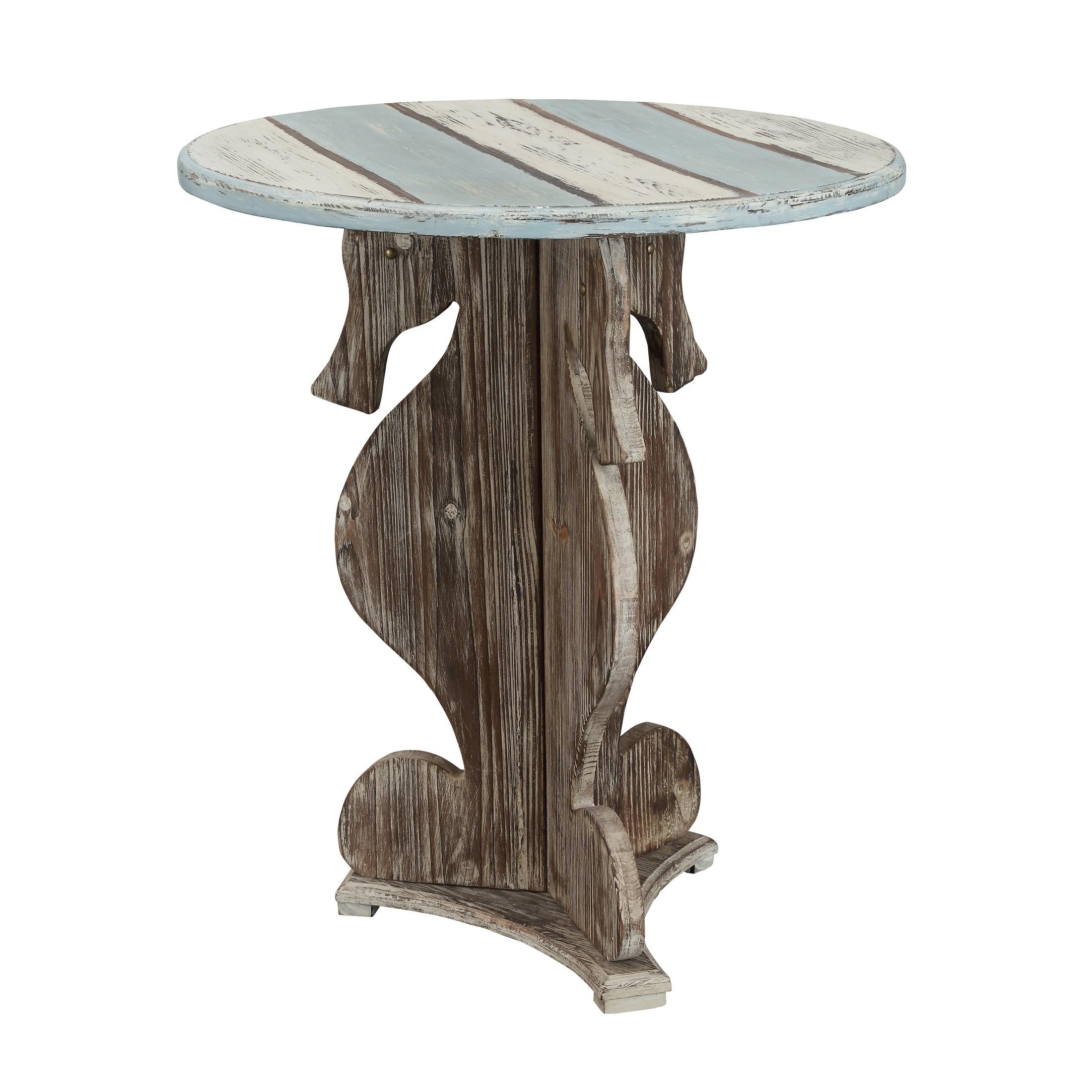 Treasure Trove Islander Multi-color Small Seahorse Table