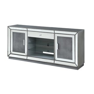 Treasure Trove Galena Metallic 2-door 1-drawer Media Credenza