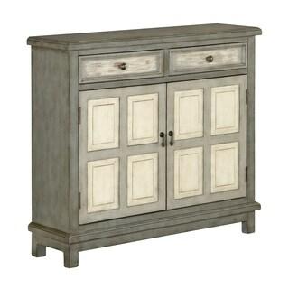 Treasure Trove Homestead Grey Medium 2-drawer 2-door Cupboard