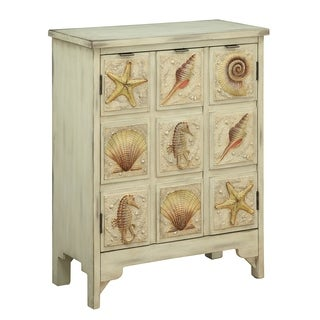 Treasure Trove Shoals Distressed Sand Medium 2-door Cabinet