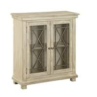 Treasure Trove Knob Hill Burnished Ivory Medium 2-door Cabinet