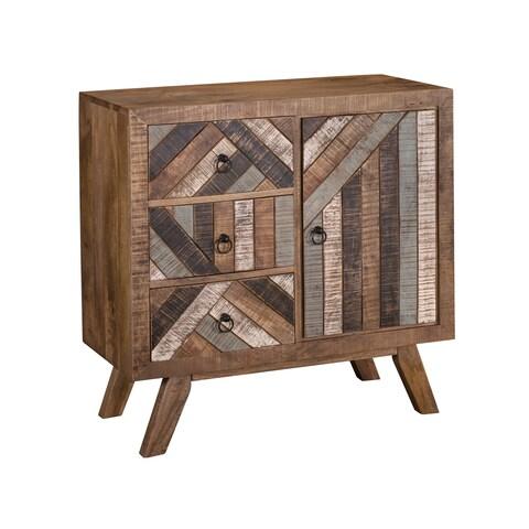 Treasure Trove Crossroads Multi Medium 1-door 3-drawer Cabinet