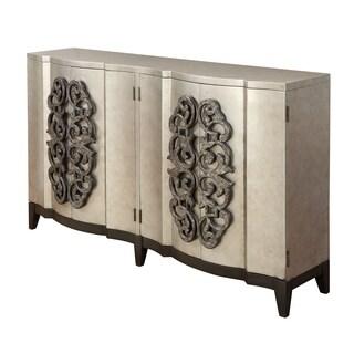 Treasure Trove Sierra Metallic Large 4-door Bar Cabinet