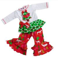 AnnLoren Christmas Tree 2 Piece Doll Outfit for 18 inch Dolls