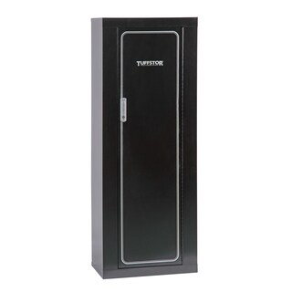 Tuff Stor Model 920 10 Gun Metal Security Cabinet