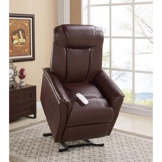 Serta Wilton Cognac Brown Reclining Chair (Lift Chairs - Brown)