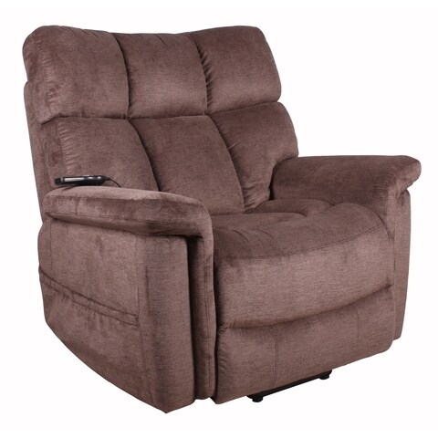 Serta Halifax Polo Club Java Fabric Lift Recliner Chair