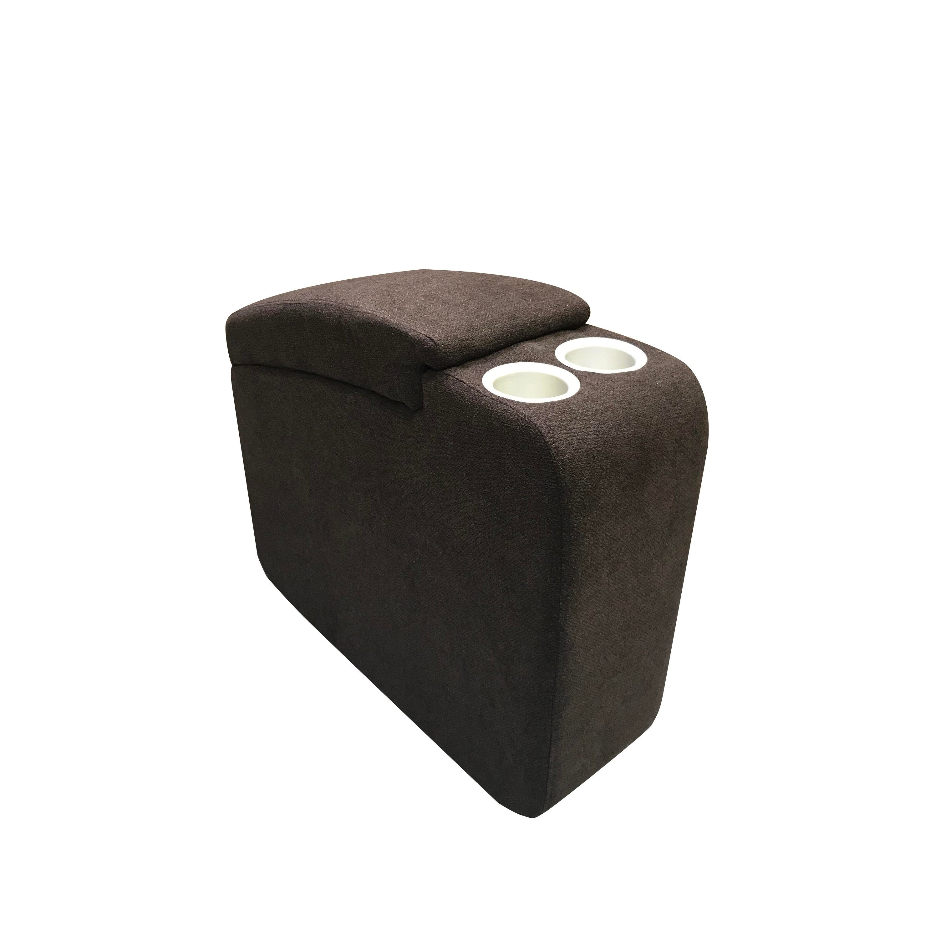 Serta Newbury Jive Java Brown Memory Foam Console (Brown)