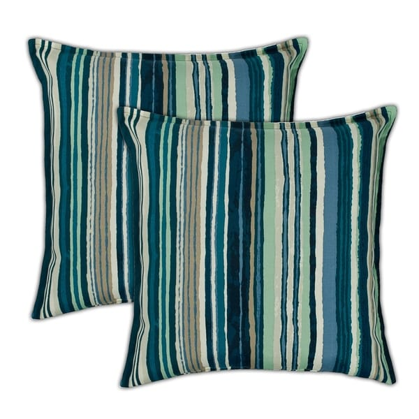 Sherry Kline Lakeview 20 Inch Outdoor Pillows Set Of 2 X Free Shipping Today 22393216