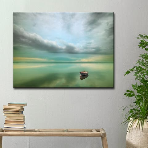 Calm' Scenic Wrapped Canvas Wall Art