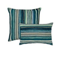 Sherry Kline Lakeview Combo Outdoor Pillows - 13 x 19/20 X 20
