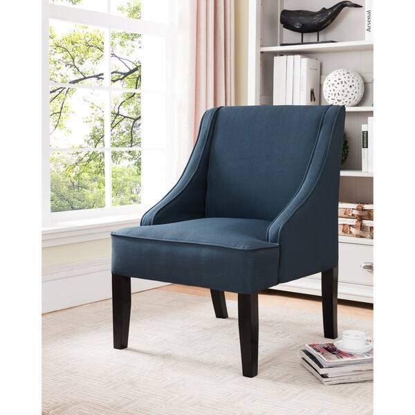 Surprising Kb Furniture Dark Blue Accent Chair Machost Co Dining Chair Design Ideas Machostcouk