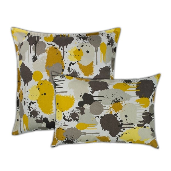 Shop Sherry Kline Paintdrip Combo Outdoor Pillows 13 X 19 20 X 20