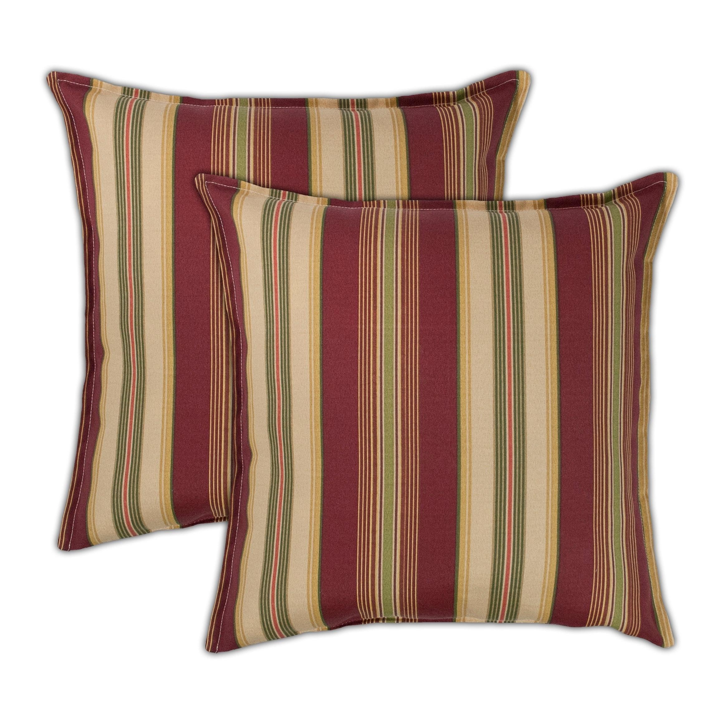 Sherry Kline Roxbury 20-inch Outdoor Pillows (Set of 2) - 20 X 20
