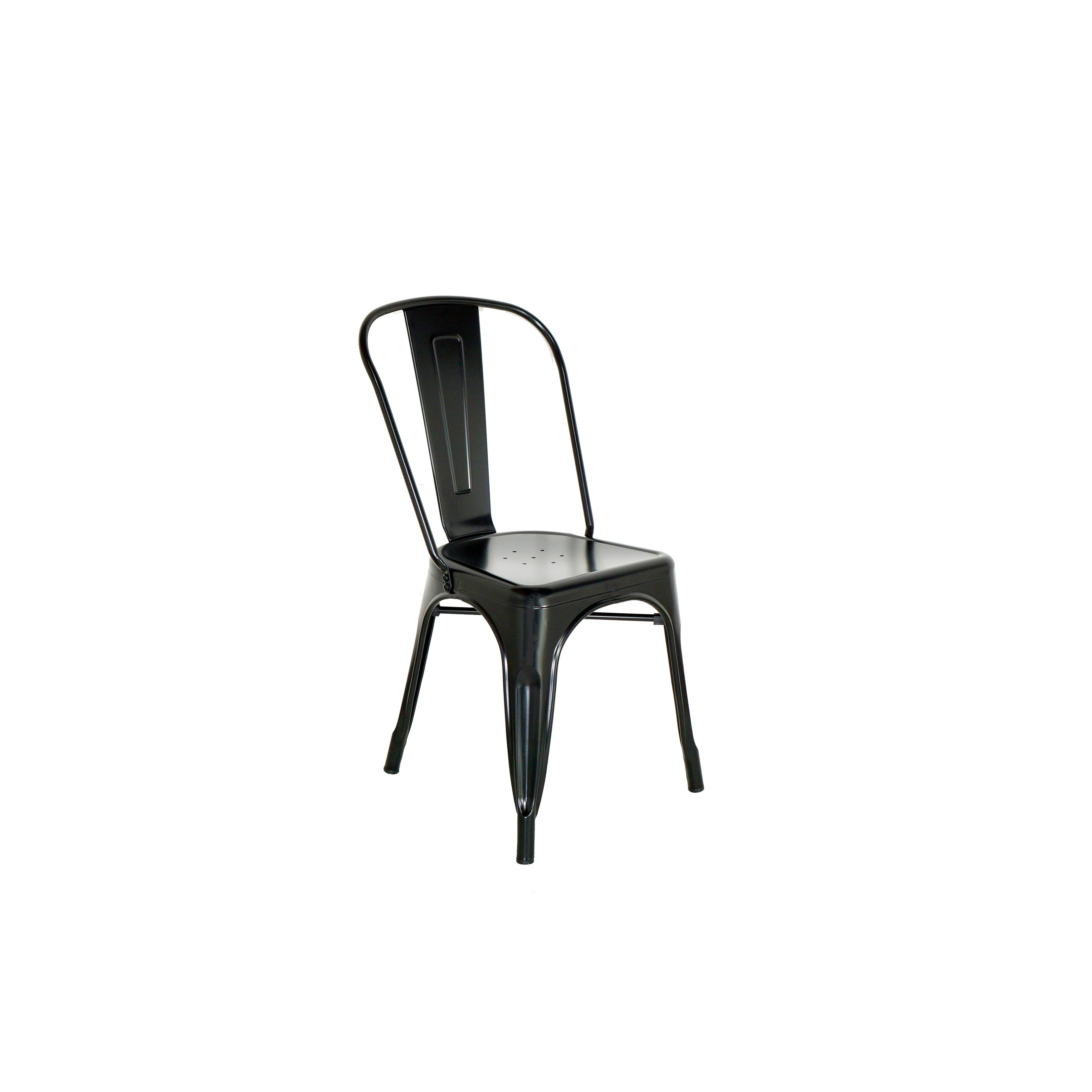 Chintaly 2-PC Steel Dining Chairs (Steel)